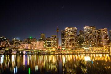 paysage de ville en australie