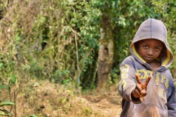 un enfant camerounais