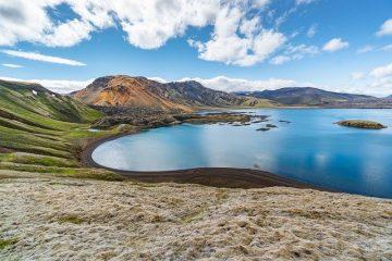 lac en islande